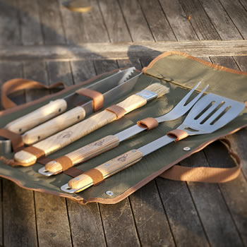 Extra image of Barbecue Tool Set with Carry Case
